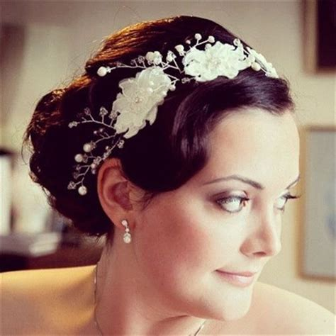 1920 bridal hair styles 1920 s bride interpretation of a 1920 s vintage hairstyle