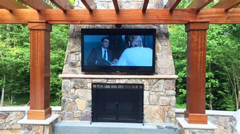 Outdoor Entertainment System - outdoor entertainment bethesda systems
