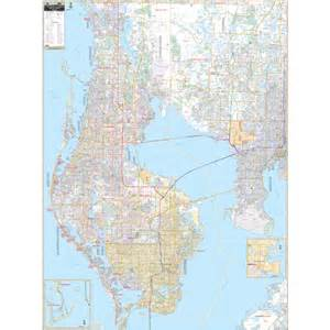 pinellas county florida zip code map pinellas county fl wall map free shipping ultimateglobes