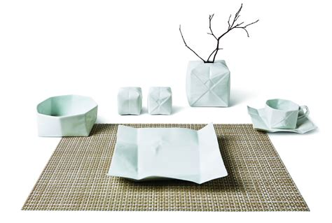 Origami Pottery - why these origami inspired ceramics should be on your