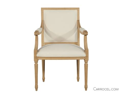 Custom Dining Chairs Louis Capet Custom Dining Chair Arm Carrocel Furniture