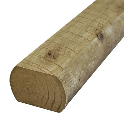 Landscape Timbers Price Shop Severe Weather Landscape Timber Common 3 In X 3 In