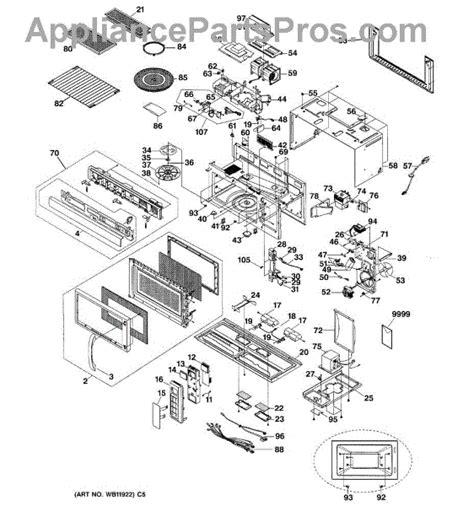 ge microwave parts diagram parts for ge jvm1860bd002 microwave parts