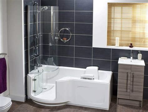 Bathrooms With Walk In Showers Paradise Walk In Shower Bath Premier Care In Bathing