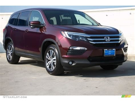 dark cherry pearl honda pilot   gtcarlotcom car color galleries
