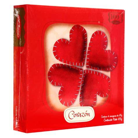 Chocolate La chocolate la ib 233 rica tr 233 bol de coraz 243 n caja 100 g wong