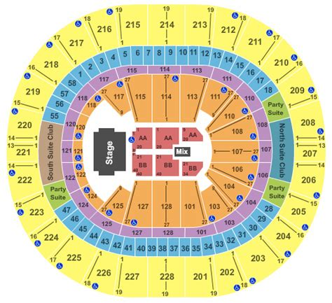 Key Arena Box Office by Tso Tickets Keyarena Seating Chart Tso