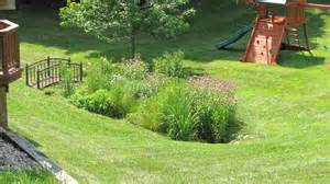 backyard landscape garden design construction in arbor mi