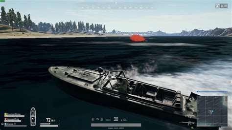 run over by boat dnykato plays pubg run over by a boat youtube