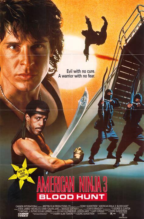 film ninja american american ninja 3 80 s movie posters cover art