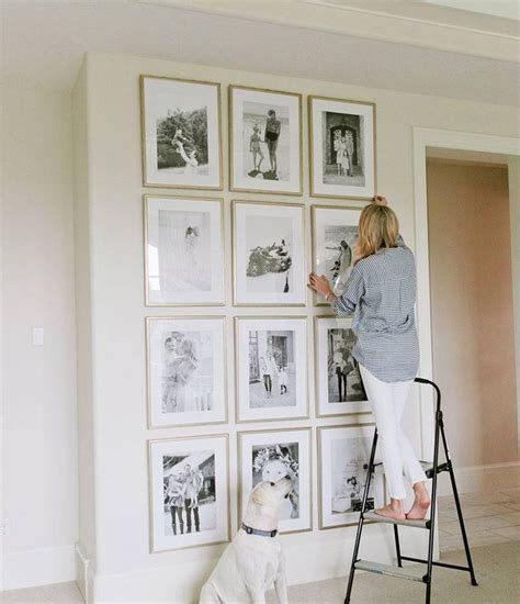 how to do a gallery wall 25 best ideas about photo gallery walls on