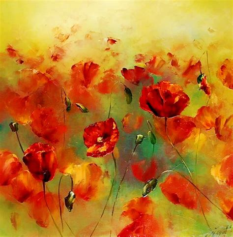 imagenes flores al oleo flores modernas al oleo imagui