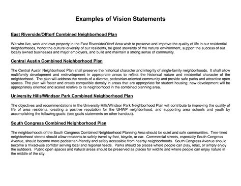 project vision template research paper writing exle them