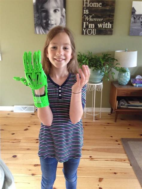 school 10 year old girl 10 year old girl assembles fully functional 3d printed