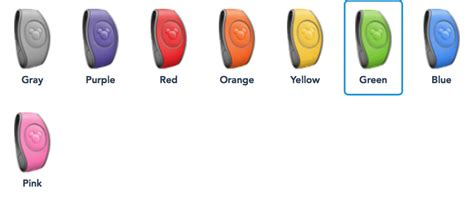disney magic bands colors 6 benefits of getting a disney magicband for disney