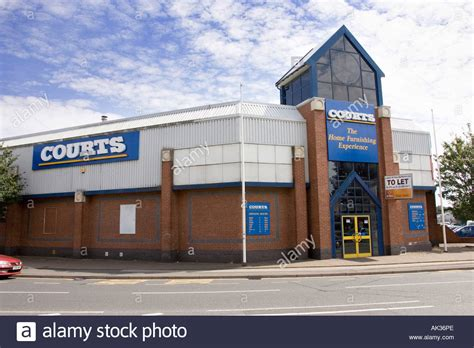 courts furniture store  worcester uk stock photo royalty  image  alamy