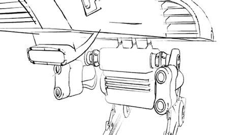 4d Sketches by Sketch Mech Lines Cinema 4d Sketch