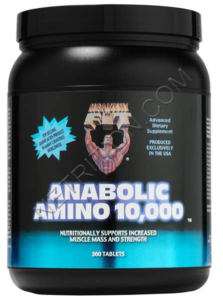Fitamino Diet Healthy N Fit Anabolic Amino 10 000 At Netrition