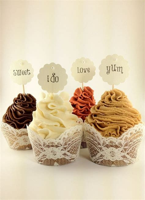 cupcake liners for bridal shower 88 best wedding cupcakes images on cake