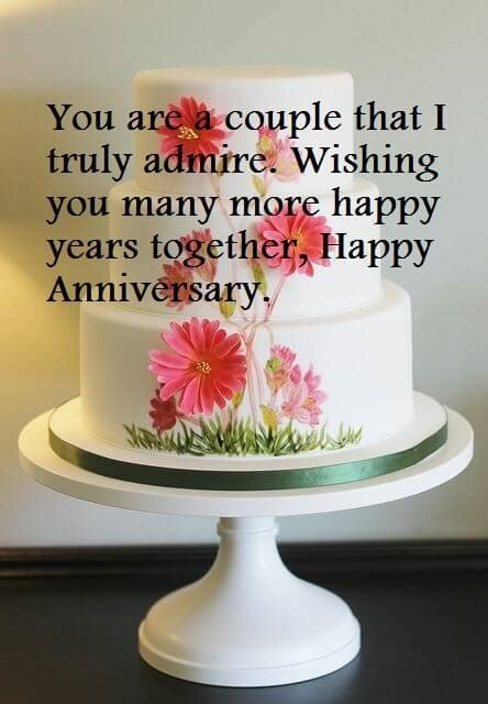 Happy Wedding Anniversary Cake Sayings Images   Best Wishes