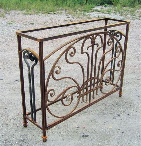 wrought iron bench legs 17 best ideas about wrought iron table legs on pinterest
