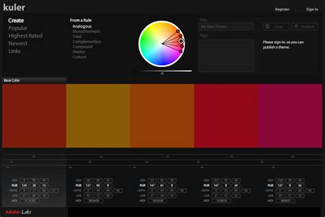 adobe colors nack on adobe introducing kuler adobe s color