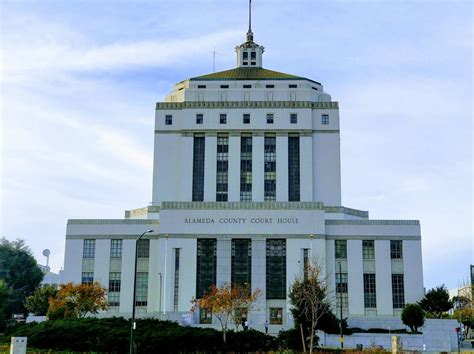 Records Alameda County Alameda County Courthouse Oakland Ca Pic Of The Week