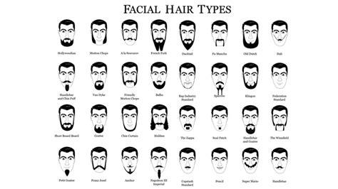 facial hair styles and their names hair chatter 187 name that facial hair