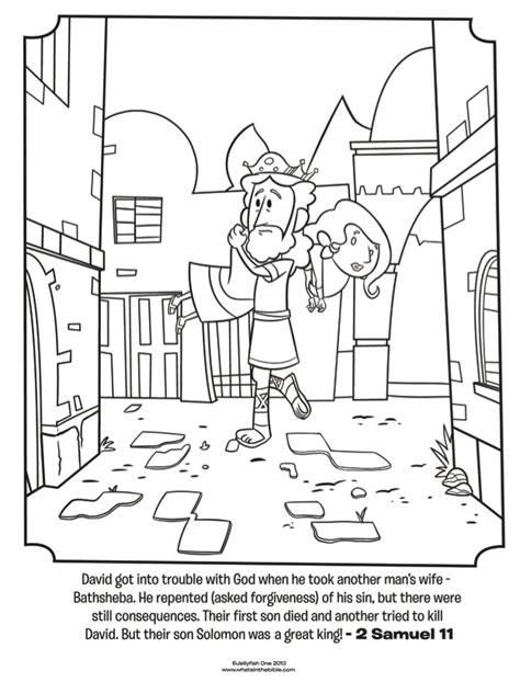 king david coloring page az coloring pages