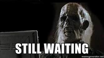Meme Waiting - still waiting meme skeleton image memes at relatably com