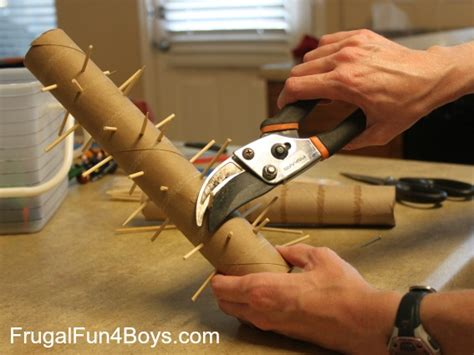 How To Make A Rainstick With A Paper Towel Roll - diy rainstick for sensory play frugal for boys