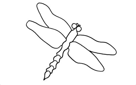 18 dragonfly templates crafts colouring pages free