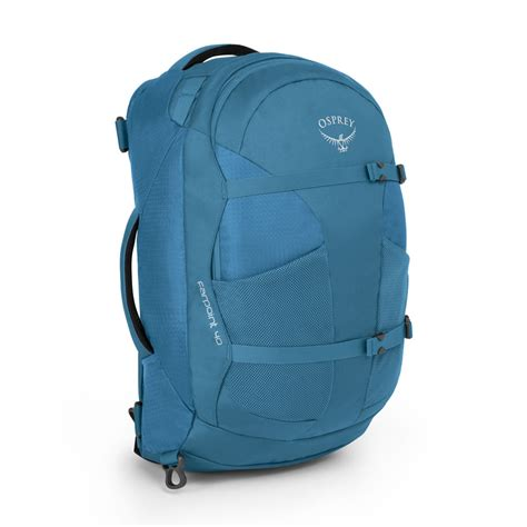 Carry On Backpack 40l carry on backpack osprey farpoint caribbean blue