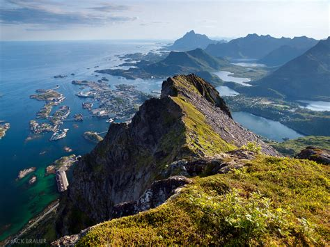 Hang Art by Above Svolv 230 R Lofoten Norway Mountain Photography By