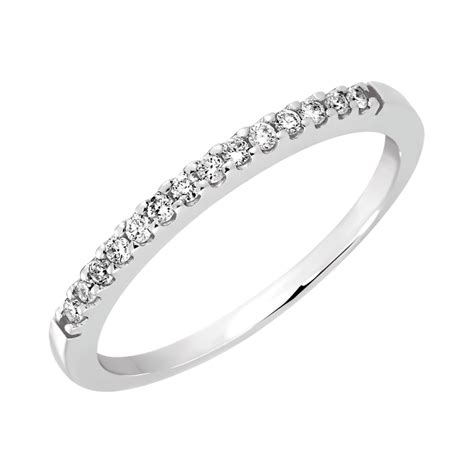 Wedding Bands White Gold by Wedding Band With Diamonds In 14kt White Gold