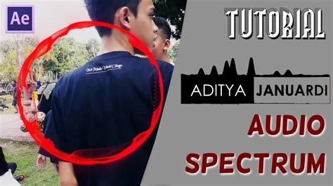 tutorial after effect bahasa indonesia tutorial membuat audio spectrum tutorial after effect
