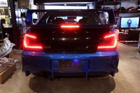 car shop glow subaru impreza wrx sti gda gdb led tails