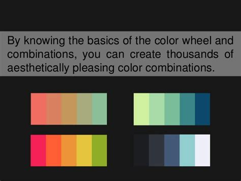 choosing web design color palettes seoogle by knowing the basics of