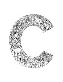 coloring pages for letter c pin embroidery stitches designs cake on