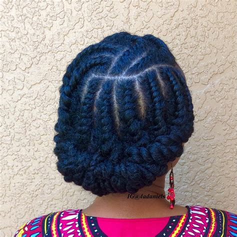 flat twist hair style magazine protective styling why you should wear protective styles