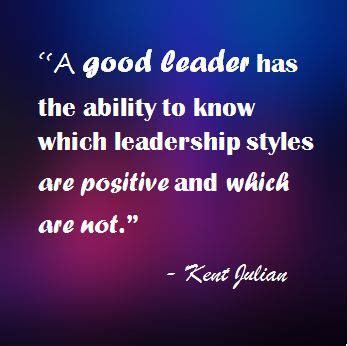 great leadership is good leadership