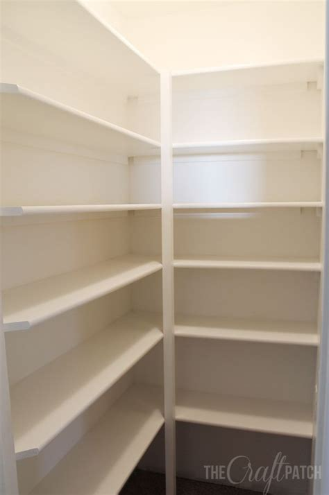 How To Build A Corner Pantry by How To Build Pantry Shelves Hometalk