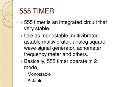 555 integrated circuit used 4 555 timer
