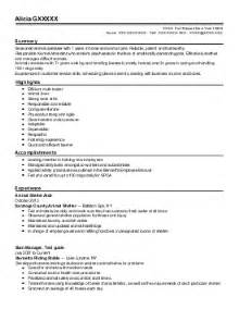 Sample Resume For Zoologist by Zoology Resume Examples Veterinary Resumes Livecareer
