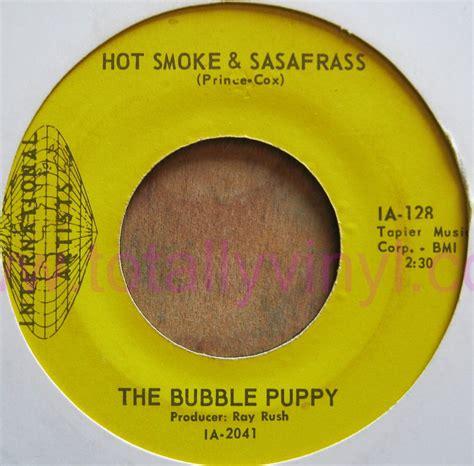 puppy smoke and sassafras totally vinyl records puppy the smoke sasafrass 7 inch vinyl