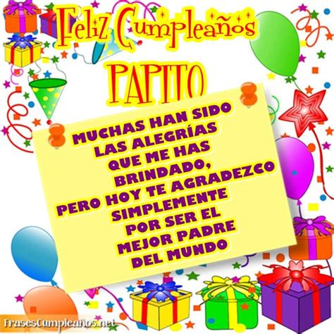 imagenes q digan feliz cumpleaños papa feliz cumplea 241 os a un pap 225 con globos