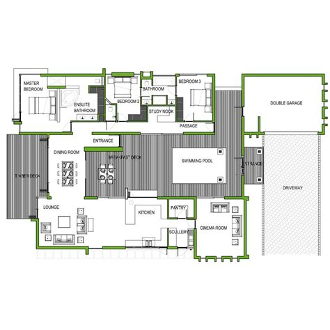 3 bedroom 273m2 floor plan only houseplanshq