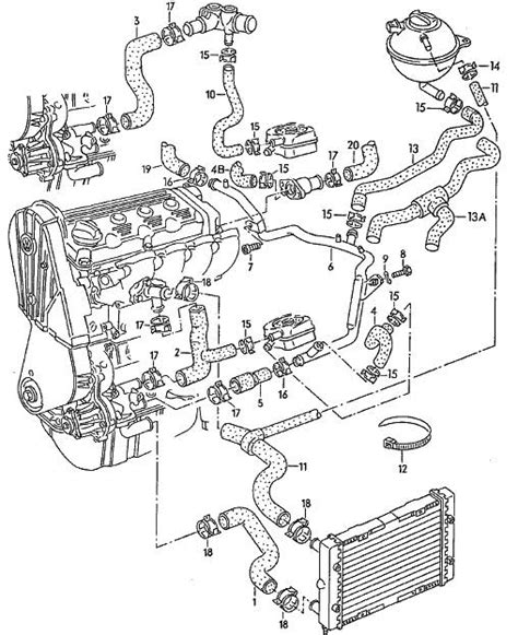 vw golf mk4 engine diagram automotive parts diagram images