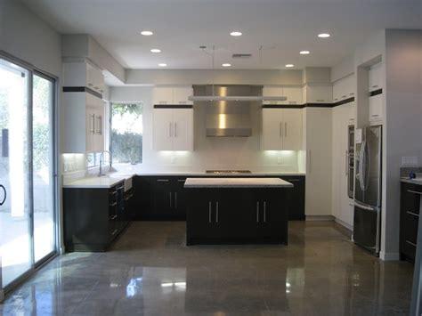 Concrete Kitchen Floor Kitchen Concrete Floor Wood Floors