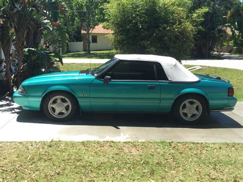 lx 5 0 mustang for sale 1992 ford mustang lx 5 0 convertible for sale